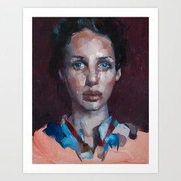 Megan-Skye Art Print