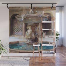Cupid's Fountain Wall Mural