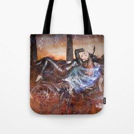Hells Angel Tote Bag
