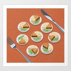 little portions Art Print