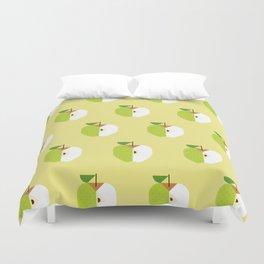 Fruit: Apple Golden Delicious Duvet Cover