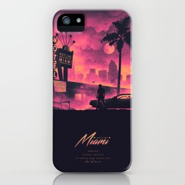 HOTLINE MIAMI / NEW 2018 iPhone Case