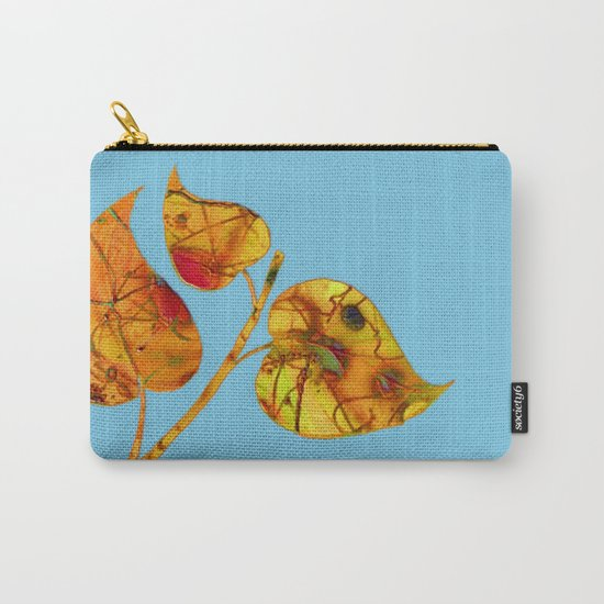 blue automn Carry-All Pouch