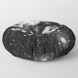 The Moon Is Down Floor Pillow