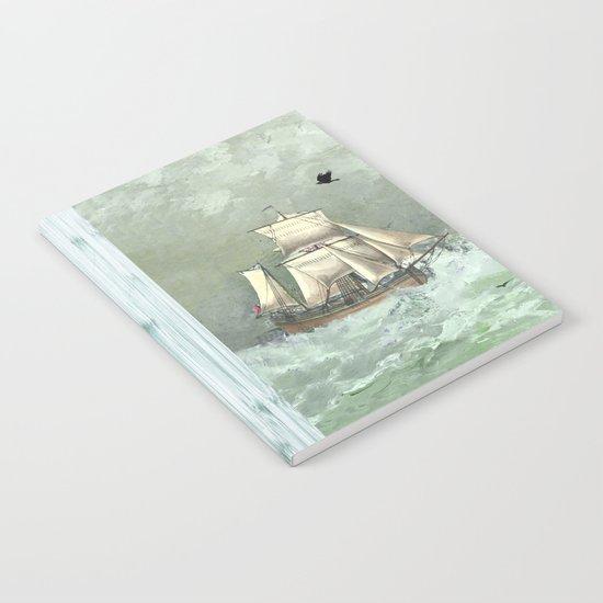 Breaking waves still Notebook