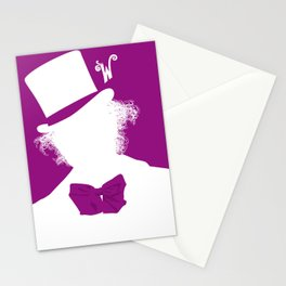 Willy Wonka Tribute Poster Stationery Cards