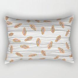 Papaya Party Rectangular Pillow