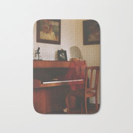 Piano lesson Bath Mat