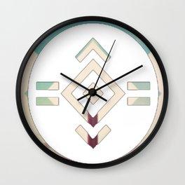 porter robinson & madeon shelter blu Wall Clock