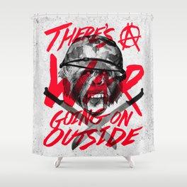 War Shower Curtain