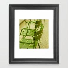 Spring Green Framed Art Print