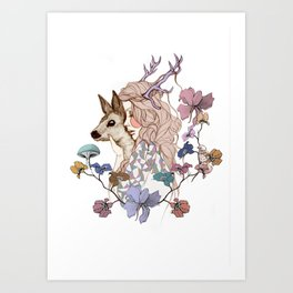 Oh My Deer Art Print