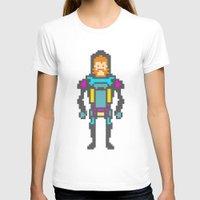 8bit T-shirts featuring 8bit beard! by Dario Di Donato