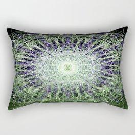 Watery Orbitals Mandala 1 Rectangular Pillow