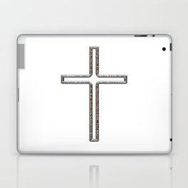 Chrome Crucifix Hollow Laptop & iPad Skin