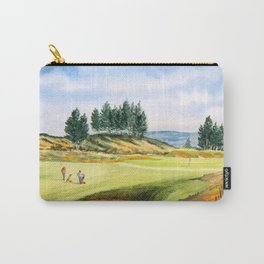 Gleneagles Kings Golf Course Scotland Carry-All Pouch