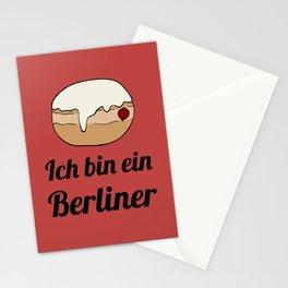 Ich bin ein Berliner Stationery Cards