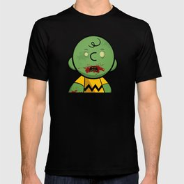 Zombie Charlie Brown T-shirt