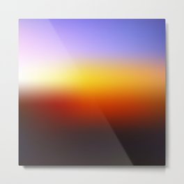 Sunset Gradient 7 Metal Print