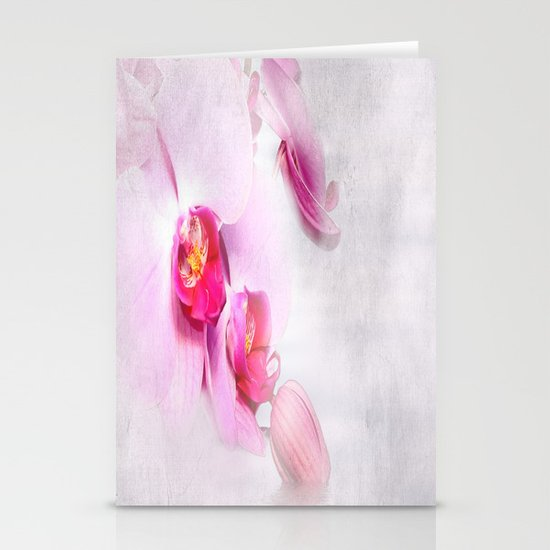 Colurful Orchid Stationery Cards