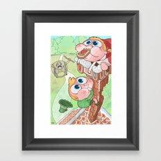Hansel and Gretel are Assholes Framed Art Print