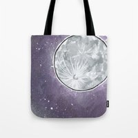 lunar Tote Bags featuring Lunar by Cody Fisher