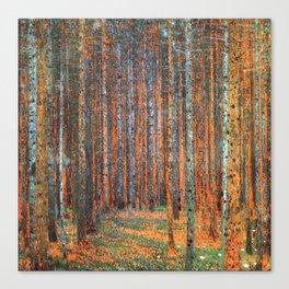 Tannenwald Gustav Klimt Canvas Print