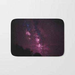 Pink Galaxy Sky Delight Bath Mat
