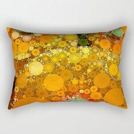 Sunset Poppies Rectangular Pillow