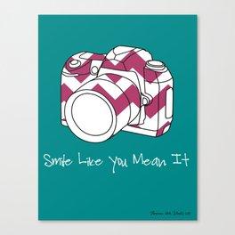 Smile Like You Mean It- 8 x 10 Art Print  Canvas Print
