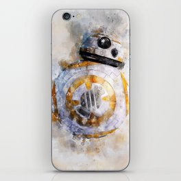 BB8! my little droid from wars star iPhone Skin