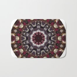 Beauty And The Beet -- A Kaleidoscope Of Beets Bath Mat