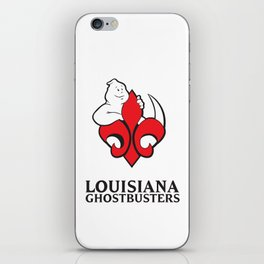 Louisiana Ghostbusters iPhone Skin