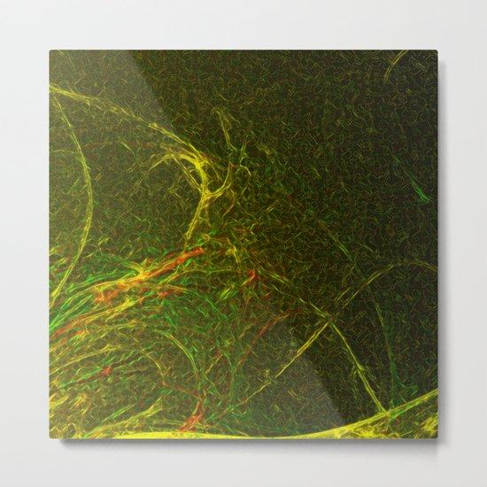 Solar Flare Waves Metal Print