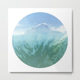 Escape to the Mountains Metal Print