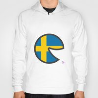sweden Hoodies featuring Sweden Smile by onejyoo