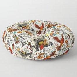 Brave Girl Floor Pillow