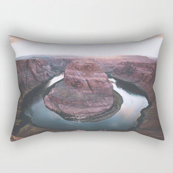 Canyon of dreams #landscape Rectangular Pillow