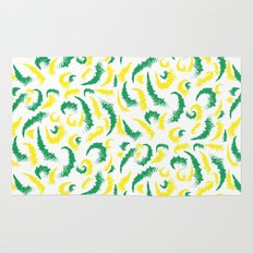 Full Colours green and yellow Summer 2013  Rug