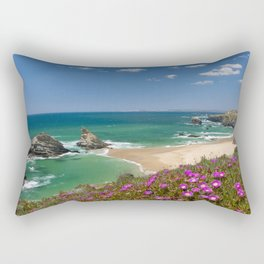A West Coast beach, the Alentejo, Portugal Rectangular Pillow