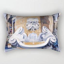 Piazza Frescobaldi Rectangular Pillow