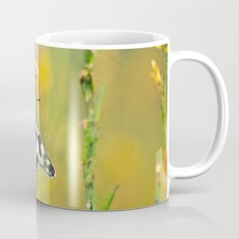 Marbled White Butterfly Coffee Mug