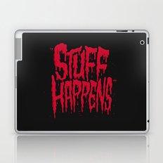 Stuff Happens Laptop & iPad Skin