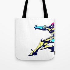 Samus Aran Color / Metroid Tote Bag