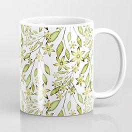delicate floral pattern. Coffee Mug