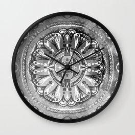 Celestial Sphere - Black/White Wall Clock