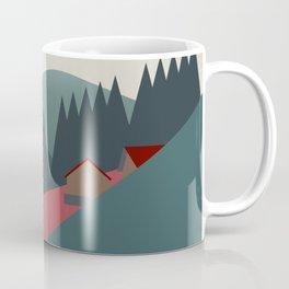 mountain huts Coffee Mug