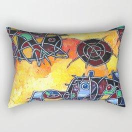 Abstraction #1 Rectangular Pillow
