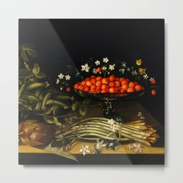 Still life from the 17th century Metal Print
