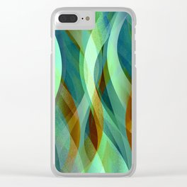 Abstract background G135 Clear iPhone Case